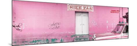 "¡Viva Mexico! Panoramic Collection - ""5 de febrero"" Light Pink Wall-Philippe Hugonnard-Mounted Photographic Print"
