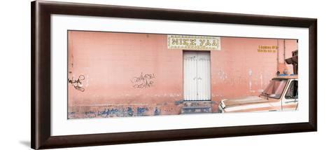 "¡Viva Mexico! Panoramic Collection - ""5 de febrero"" Coral Wall-Philippe Hugonnard-Framed Art Print"