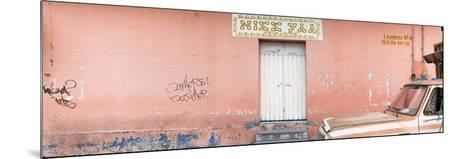 """¡Viva Mexico! Panoramic Collection - """"5 de febrero"""" Coral Wall-Philippe Hugonnard-Mounted Photographic Print"""