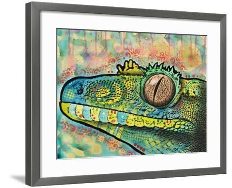 Gecko-Dean Russo-Framed Art Print