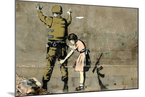 War-Banksy-Mounted Giclee Print
