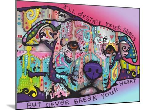 Never Break Your Heart-Dean Russo-Mounted Giclee Print