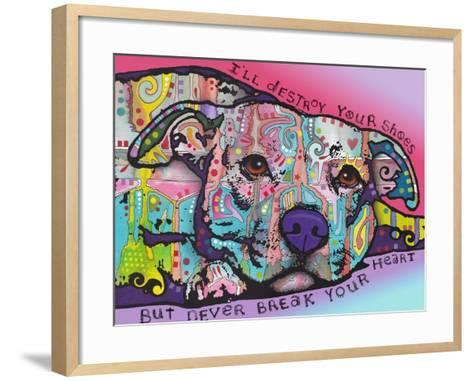Never Break Your Heart-Dean Russo-Framed Art Print