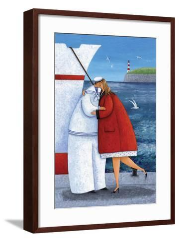 Seaside Reunion-Peter Adderley-Framed Art Print