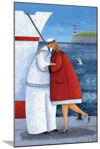 Seaside Reunion-Peter Adderley-Mounted Art Print