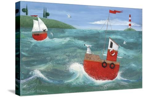 Ship Ahoy-Peter Adderley-Stretched Canvas Print