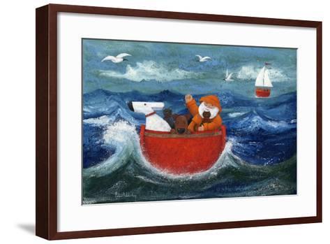 All Aboard-Peter Adderley-Framed Art Print