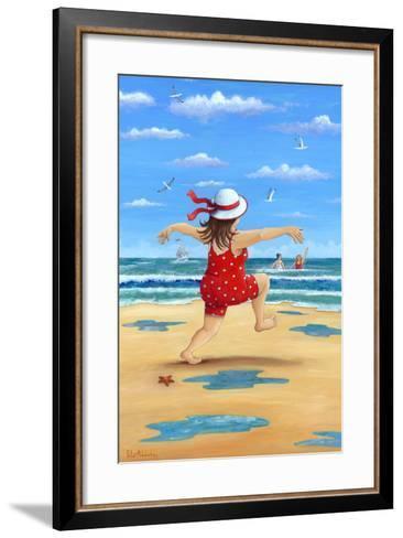 A Bracing Dip-Peter Adderley-Framed Art Print