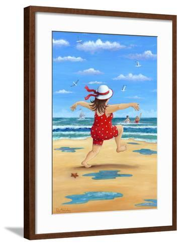 A Bracing Dip-Peter Adderley-Framed Art Print