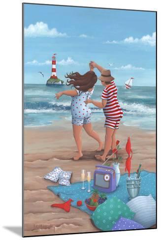 Beach Dance-Peter Adderley-Mounted Art Print