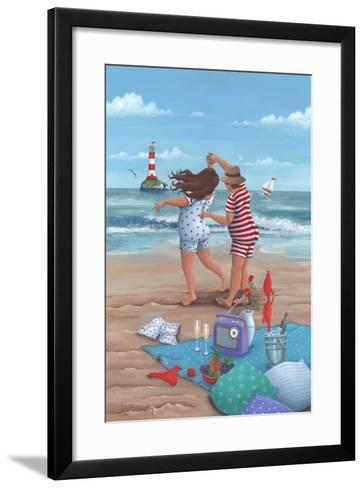 Beach Dance-Peter Adderley-Framed Art Print