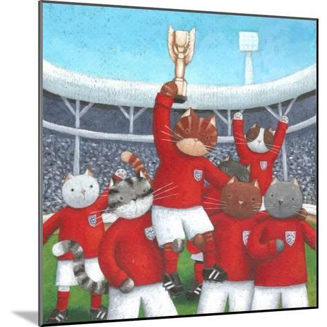 The Champions-Peter Adderley-Mounted Art Print