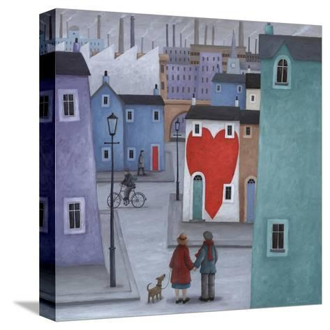 Where the Heart Is-Peter Adderley-Stretched Canvas Print