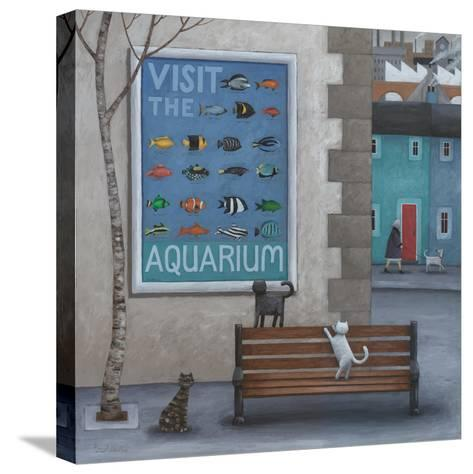 Visit the Aquarium-Peter Adderley-Stretched Canvas Print