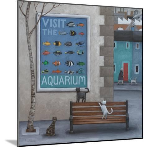 Visit the Aquarium-Peter Adderley-Mounted Art Print