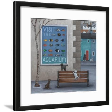 Visit the Aquarium-Peter Adderley-Framed Art Print