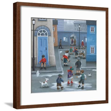 Leap Frog-Peter Adderley-Framed Art Print
