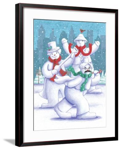 Snow Business Marx Brothers-Peter Adderley-Framed Art Print