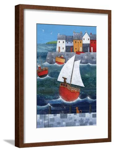 Sailor Dog-Peter Adderley-Framed Art Print