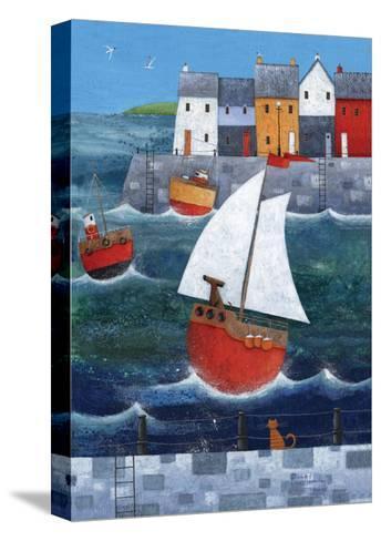 Sailor Dog-Peter Adderley-Stretched Canvas Print