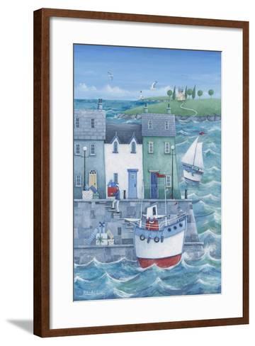 Harbour Gifts-Peter Adderley-Framed Art Print