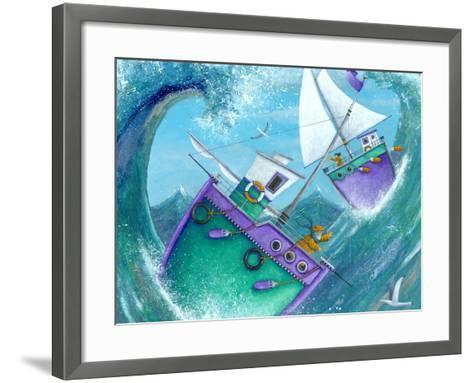 Stormy Weather (Variant 1)-Peter Adderley-Framed Art Print
