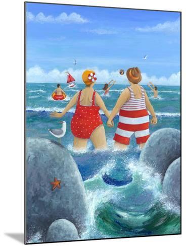 I Do Like to Be Beside the Seaside-Peter Adderley-Mounted Art Print