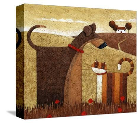 Poppy Field-Peter Adderley-Stretched Canvas Print