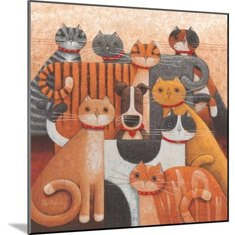 Odd One Out-Peter Adderley-Mounted Art Print