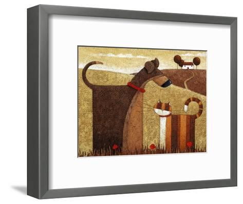 Poppy Field-Peter Adderley-Framed Art Print