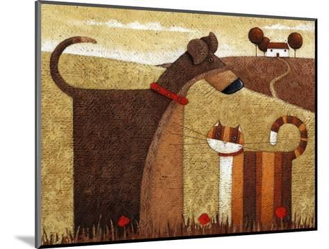 Poppy Field-Peter Adderley-Mounted Art Print