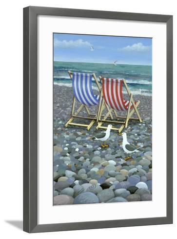Deck Chairs-Peter Adderley-Framed Art Print