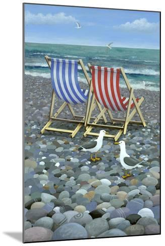 Deck Chairs-Peter Adderley-Mounted Art Print