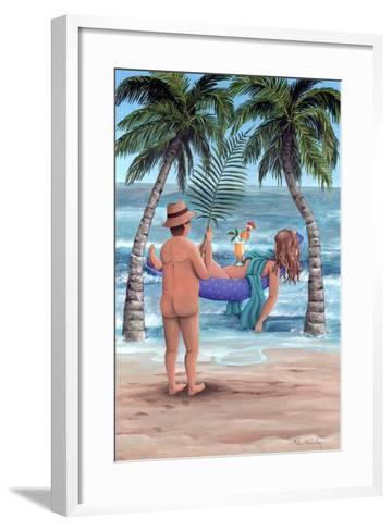Palm Trees-Peter Adderley-Framed Art Print