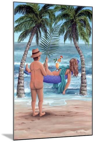Palm Trees-Peter Adderley-Mounted Art Print