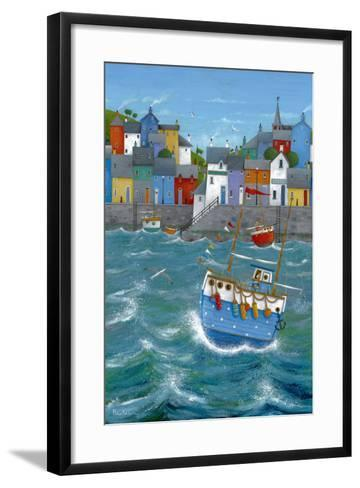 Quayside-Peter Adderley-Framed Art Print