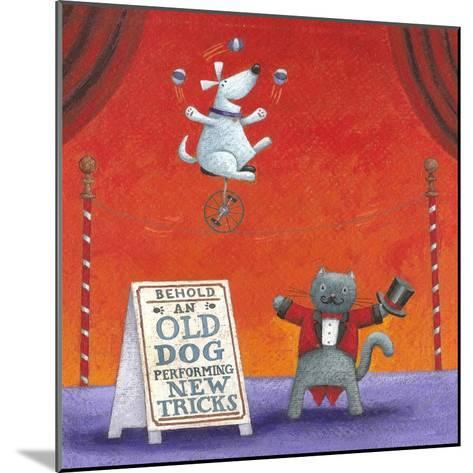 Old Dog with New Tricks-Peter Adderley-Mounted Art Print