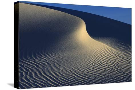 Irregular Ripples On Gypsum Sand Dunes Created By High Winds-Jouan Rius-Stretched Canvas Print