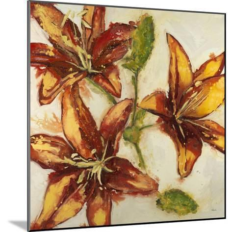 Floral Abstract-Randy Hibberd-Mounted Art Print