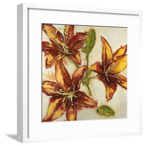 Floral Abstract-Randy Hibberd-Framed Art Print