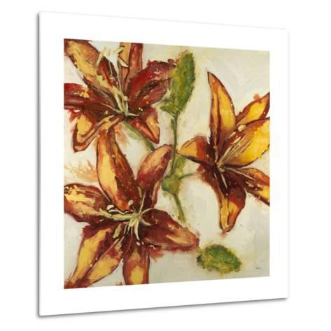Floral Abstract-Randy Hibberd-Metal Print