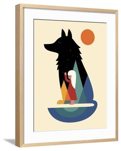 Best Friend-Andy Westface-Framed Art Print