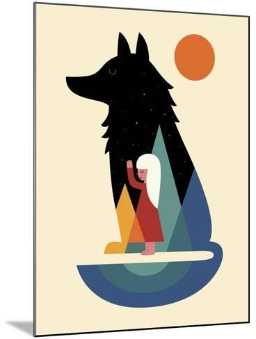 Best Friend-Andy Westface-Mounted Giclee Print