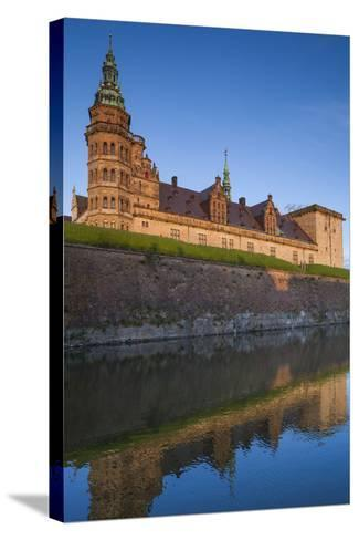 Denmark, also known as Elsinore Castle-Walter Bibikow-Stretched Canvas Print