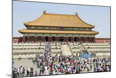 Second Courtyard and Hall of Supreme Harmony Forbidden City, Beijing China-Michael DeFreitas-Mounted Photographic Print