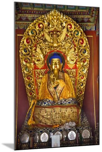 Blue Buddha Hands, Peace Altar Offerings Yonghe Gong Buddhist Lama Temple-William Perry-Mounted Photographic Print