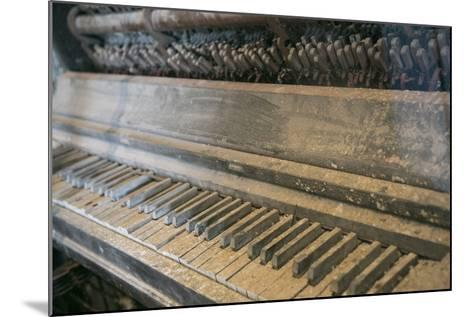 Antique Piano, Ellis Island, New York, New York. Usa-Julien McRoberts-Mounted Photographic Print