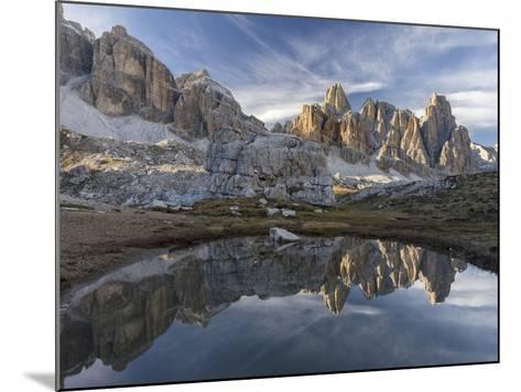 The Fanis Mountains Seen from Val Travenanzes , the Dolomites Near Cortina D'Ampezzo-Martin Zwick-Mounted Photographic Print