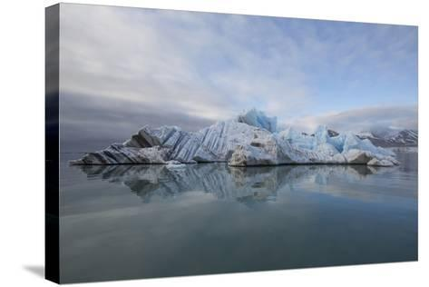 Europe, Norway, Svalbard. Drifting Ice from Monaco Glacier-Jaynes Gallery-Stretched Canvas Print