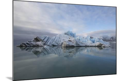 Europe, Norway, Svalbard. Drifting Ice from Monaco Glacier-Jaynes Gallery-Mounted Photographic Print